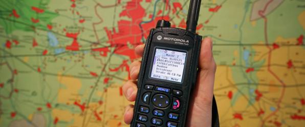 Navigationssysteme am Digitalfunkgerät