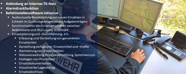 Einsatzleitungen im Ausnahmezustand – Sachstandsbericht des Befehlsstellenkonzepts der IRLS Lausitz