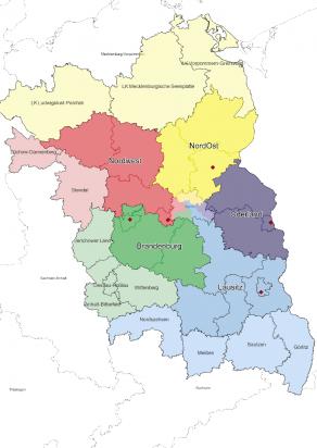 Zuständigkeitsgebiete