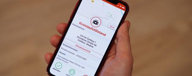 """Ersthelfer-App """"KATRETTER"""" in der Lausitz"""